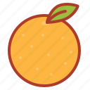 asian, chinese, decorations, fruit, new, orange, year icon