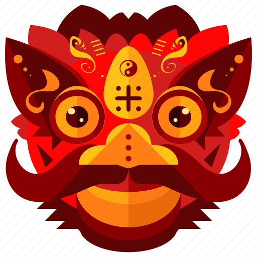 celebration, chinese, costume, dragon, festival, new, year icon