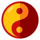 balance, celebration, chinese, new, yan, year, yin icon