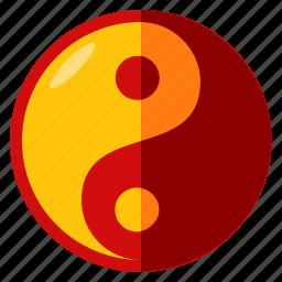 balance, celebration, chinese, new, yan, year, yin icon