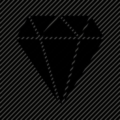 diamond, gam, jewel, jewelry icon