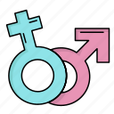 female, gender, male, mars, venus icon