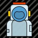 astronaut, helmet, space, spaceman, suit