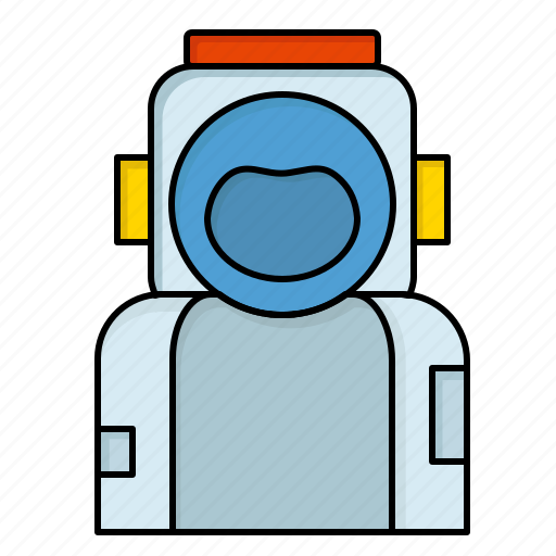 Astronaut, helmet, space, spaceman, suit icon - Download on Iconfinder