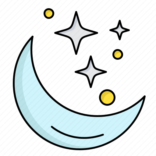 Moon, night, space, star, weather icon - Download on Iconfinder
