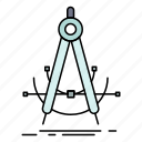 accure, compass, geometry, measurement, precision