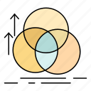 alignment, balance, circle, geometry, measurement icon