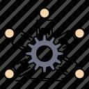 business, group, leadership, team, teamwork icon
