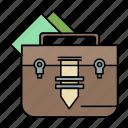 bag, briefcase, file, folder, portfolio icon