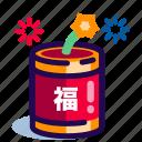 chinese, chinese new year, chinese new year icon, firework