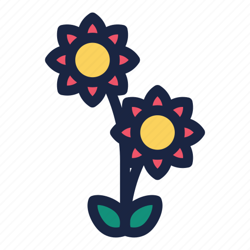 blooming flower, celebration, chinese, chinese new year, decoration, holiday, party icon