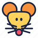 celebration, chinese, chinese new year, decoration, holiday, party, rat icon