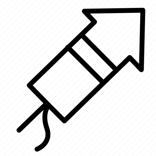 chiness, fire, firecracker, imlek, new year icon