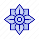 china, chinese, decoration, flower icon