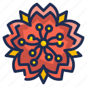 blossom, botanic, chinese, floral, flower, garden, nature icon