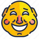china, chinese, comedy, face, mask, people, smile icon