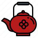 chinese, kettle, new, tea, teapot, time, year