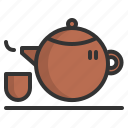 asian, beverage, chinese, cup, drink, tea, teapot