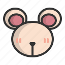 animal, chinese, mouse, rat, traditional, year, zodiac