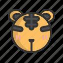 animal, chinese, new year, tiger, wild, zodiac, zoo