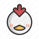 animal, chick, chicken, chinese, pet, rooster, zodiac