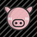 animal, animals, astrology, chinese, new year, pig, zodiac
