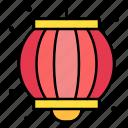 lantern, jack, o, sky, chinese, paper