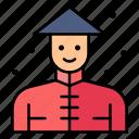 avatar, chinese, farmer, male, man