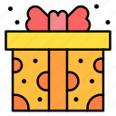 gift, box, present, surprise, wrap