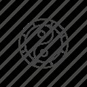 yang, yin, circle, spiritual