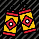 china, explosion, explosive, firecracker, noise icon