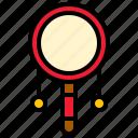 china, drum, musical instrument, pellet drum, rattle drum icon