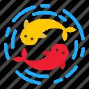 animal, carp, china, chinese, fish icon