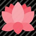 china, chinese, flora, flower, lotus icon
