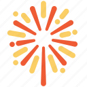 chinese, firework, newyear icon