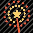 chinese, firework, newyear icon