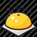 buns, chinese, dessert, steam icon