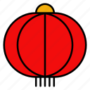 lantern, chinese, new, year, lamp