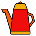 teapot, chinese, new, year, kettle