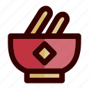 bowl, chinese, chinese bowl, chinese new year, food, lunar, soup icon