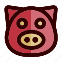 chinese, chinese new year, farm, lunar, pig, piggy, pork