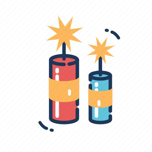 celebration, chinese new year, firecrackers, fireworks, holiday, party, rocket icon