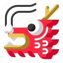 animal, china, chinese new year, dragon icon