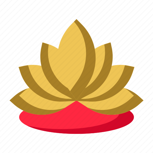 Blossom, flower, lotus, yoga icon - Download on Iconfinder