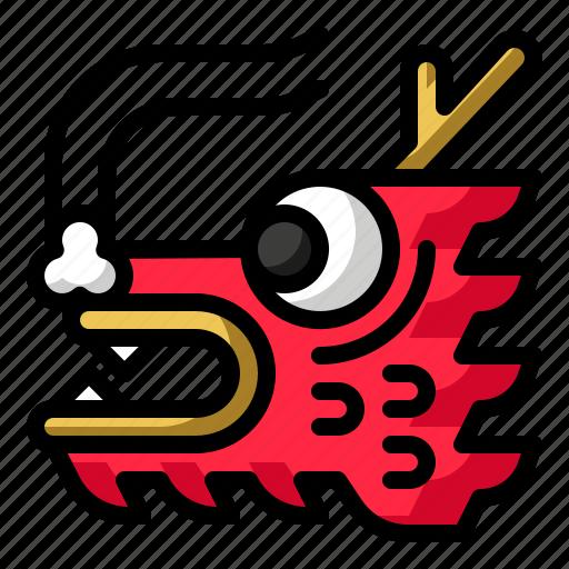 animal, china, chinese new year, dragon icon