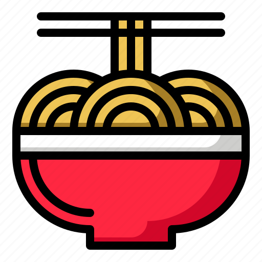 bowl, chinese, food, noodles icon