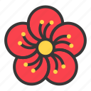 china, chinese, flower, new year, plum blossom icon