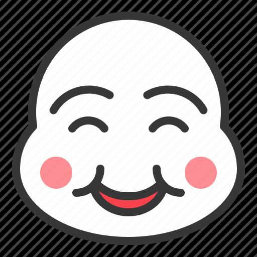 china, chinese, mask, new year, smile icon