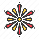 china, chinese, fire, firecracker, fireworks, light, new year icon