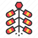 china, chinese, fire, firecracker, new year icon